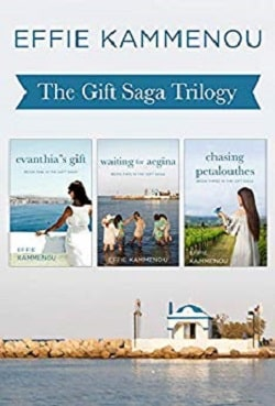 the Gift Saga trilogy by Effie Kammenou